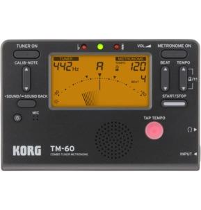 Korg TM-60 Combo Tuner Metronome - Black