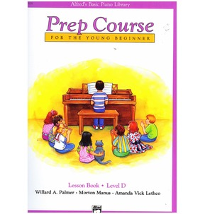 Alfred's Basic Piano Library Prep Course Lesson Book Level A