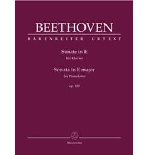 Beethoven Piano Sonata in E major - Barenreiter Urtext Edition