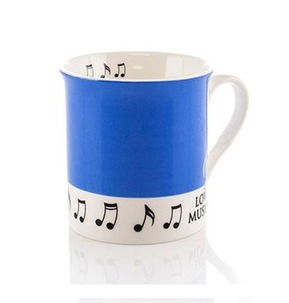 Colour Block Mug: Blue
