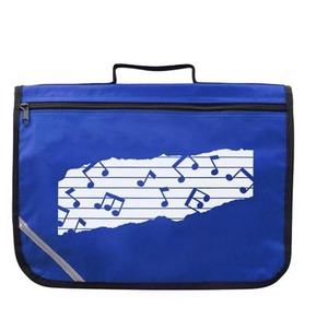 Mapac Music Bag with Shoulder Strap - Blue