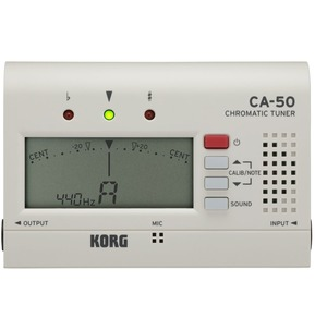 Korg CA-50 Chromatic Multi-Instrument Tuner