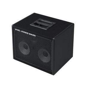 Phil Jones Bass CAB-27 200 Watt Bass Extension Speaker Cabinet, Black