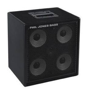Phil Jones Bass CAB-47 300 Watt Bass Extension Speaker Cabinet, Black
