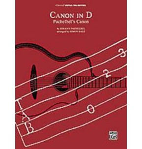 Canon in D - Pachelbel (Classical Guitar TAB)