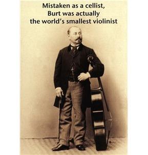 Mildew Design: Mistaken As A Cellist - Greeting Card