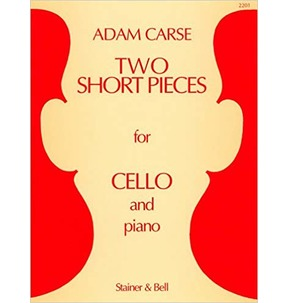 Carse: Two Short Pieces for Cello and Piano