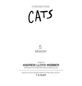 Memory from Cats - SATB Accompanied