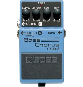 Boss CEB-3 Bass Chorus Electric Bass Guitar Effects Pedal