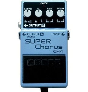 Boss CH-1 Super Chorus Compact Electric Guitar Effects Pedal