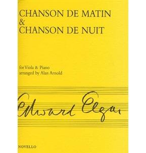 Chanson De Martin and Chanson De Nuit - Viola and Piano