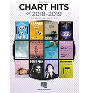 Chart Hits of 2018-2019 (Easy Guitar)