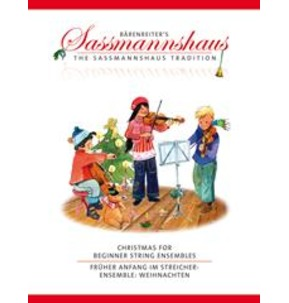 Christmas for Beginner String Ensembles (Playing Score) (String Ensemble)