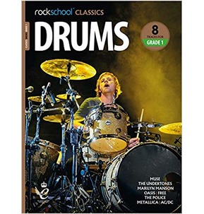 Rockschool Classics Drums: Tracks for Grade 1