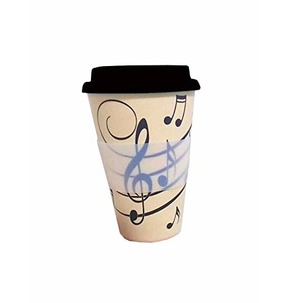 Music Note Travel Coffee Mug