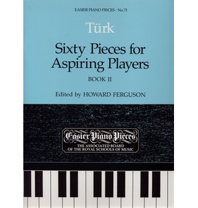 Turk 60 Pieces Aspiring Players Bk 2 Easier Piano Pieces 71