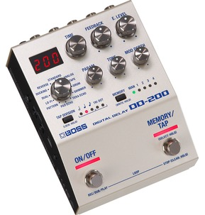 Boss DD-200 Digital Delay Electric Guitar Pedal