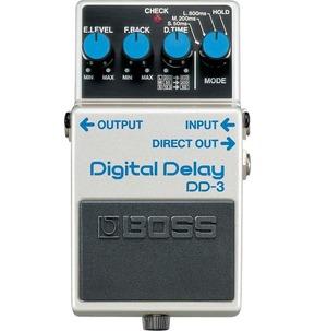 Boss DD-3 Digital Delay Compact Guitar Effects Pedal