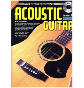 Progressive Acoustic Guitar for Beginners - Book and CD