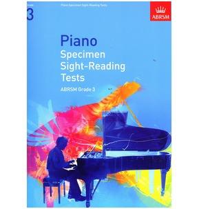 Specimen Piano Sight-Reading Tests 2009+ ABRSM Grade 3