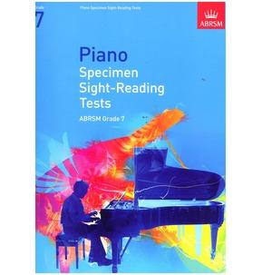 ABRSM Specimen Piano Sight-Reading Tests Grade 7