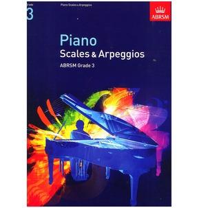 Piano Scales & Arpeggios 2009+ ABRSM Grade 3