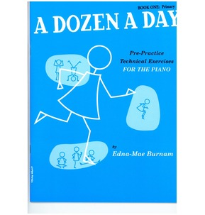 A Dozen A Day For Piano