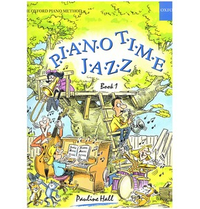Piano Time Jazz Book by Pauline Hall