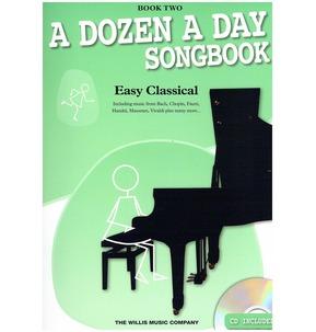A Dozen A Day Songbook  Easy Classical Book 2 - Sale