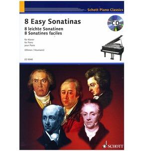 8 Easy Sonatinas for Piano