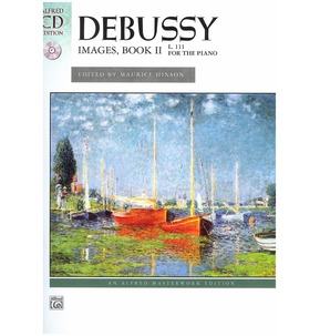 Debussy Images Book 2 with Naxos CD