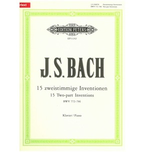 2 Part Inventions for Piano by Bach