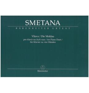 Smetana, Bedrich - Vltava for Piano Duet (Barenreiter)