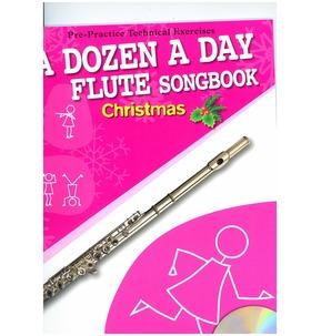 A Dozen A Day Flute Songbook: Christmas (Book/CD)