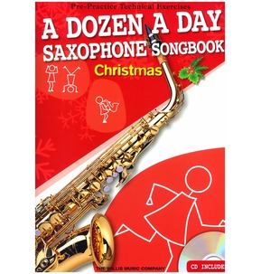 A Dozen A Day Saxophone Songbook: Christmas (Book/CD)