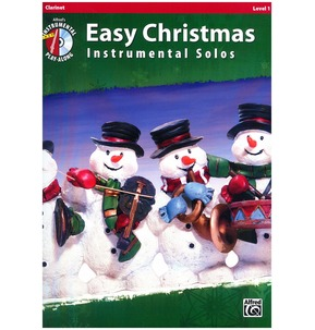 Easy Christmas Instrumental Solos Clarinet Book/CD