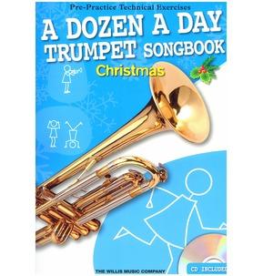 A Dozen A Day Trumpet Songbook: Christmas (Book/CD)