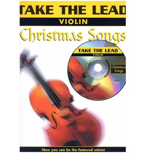 Take The Lead Christmas Songs Violin Book/CD