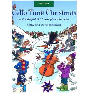 Cello Time Christmas - Book/CD