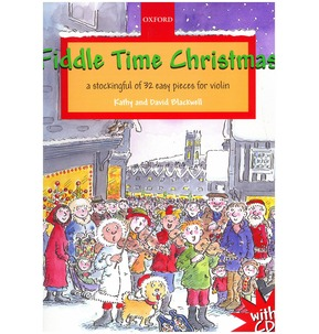 Fiddle Time Christmas - Book/CD