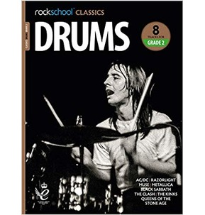 Rockschool Classics Drums: Tracks for Grade 2