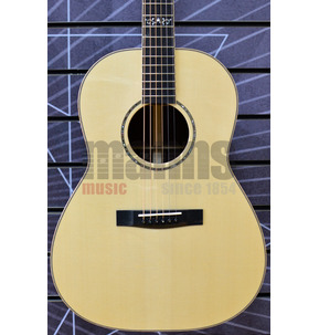 Huss & Dalton Concert CM-Non Cutaway Triple-O Natural All Solid Acoustic Guitar & Case