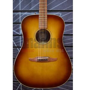Fender California Redondo Classic Aged Cognac Burst All Solid Electro Acoustic Guitar & Case