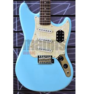 Fender Squier Paranormal Cyclone Daphne Blue Electric Guitar