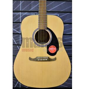 Fender Alternative FA-125 Dreadnought Natural Acoustic Guitar & Case