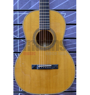 Huss & Dalton Small Body OO-SP Custom Double-O Natural All Solid Acoustic Guitar & Case