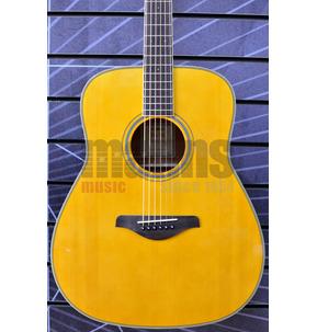Yamaha FG-TA TransAcoustic Electro Acoustic Guitar - Vintage Tint