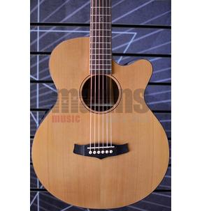 Tanglewood Java TWJSF CE Super Folk Natural Electro Acoustic Guitar