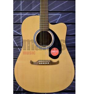 Fender Alternative FA-125CE Dreadnought Natural Electro Acoustic Guitar
