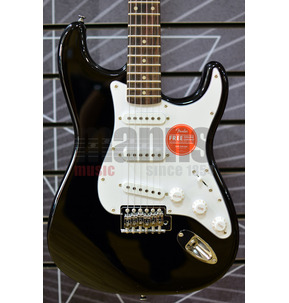 Fender Squier Affinity Series Stratocaster Black Electric Guitar